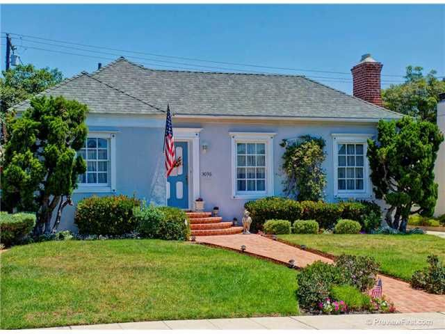 Main Photo: POINT LOMA House for sale : 4 bedrooms : 3036 Kingsley Street in San Diego