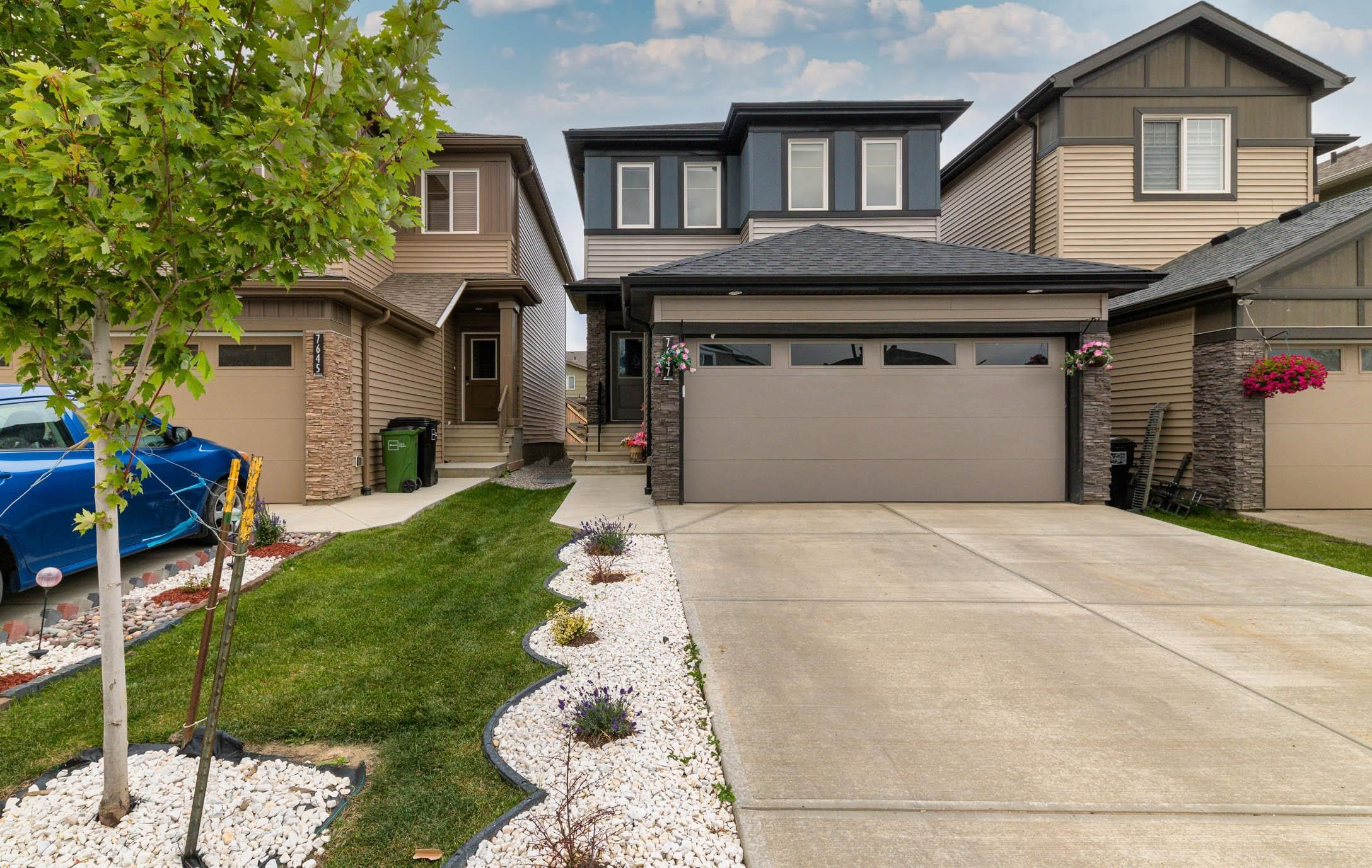 Main Photo: 7647 CREIGHTON Place in Edmonton: Zone 55 House for sale : MLS®# E4262314