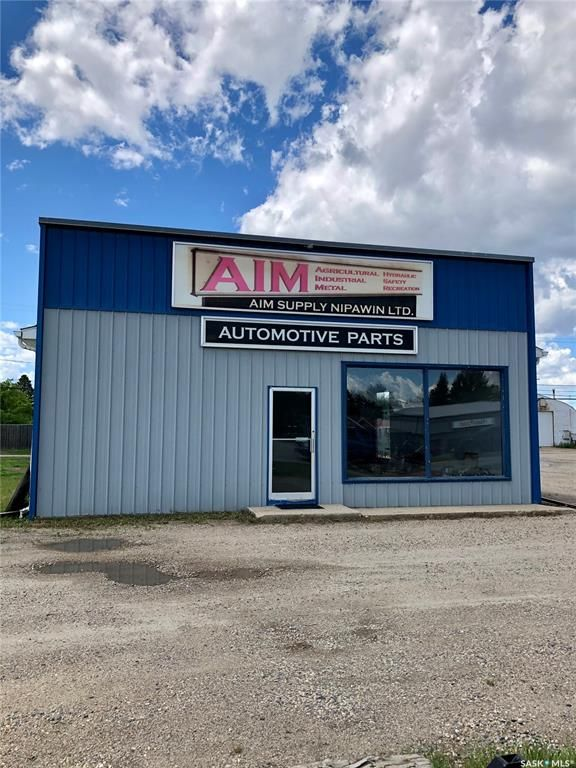 Main Photo: 1110 8th Street West in Nipawin: Commercial for sale : MLS®# SK859646