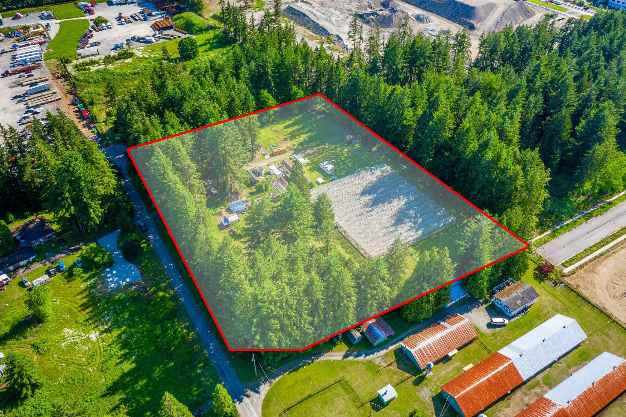 Main Photo: 3373 194 St. in Surrey: Land for sale