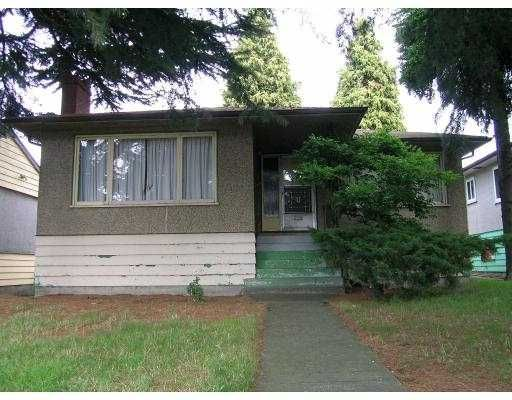 Main Photo: 1643 E 56TH Ave in Vancouver: Fraserview VE House for sale (Vancouver East)  : MLS®# V615183