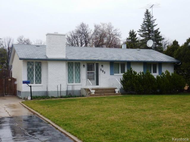 Main Photo: 283 Hoddinott Road in East St Paul: Single Family Detached for sale : MLS®# 1211326