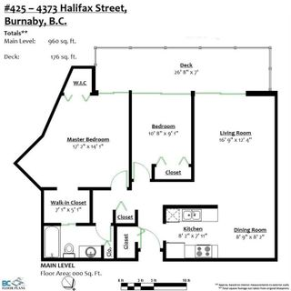 Photo 20: 425 4373 HALIFAX STREET in Burnaby: Brentwood Park Condo for sale (Burnaby North)  : MLS®# R2216919
