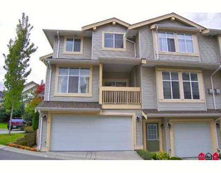 """Photo 1: 11 14959 58TH Avenue in Surrey: Sullivan Station Townhouse for sale in """"SKYLANDS"""" : MLS®# F2724942"""