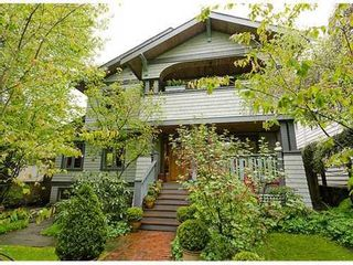 Photo 1: 4338 11TH Ave W in Vancouver West: Point Grey Home for sale ()  : MLS®# V951171
