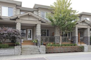 """Photo 1: 56 18701 66TH Avenue in Surrey: Cloverdale BC Townhouse for sale in """"ENCORE AT HILLCREST"""" (Cloverdale)  : MLS®# F1225659"""