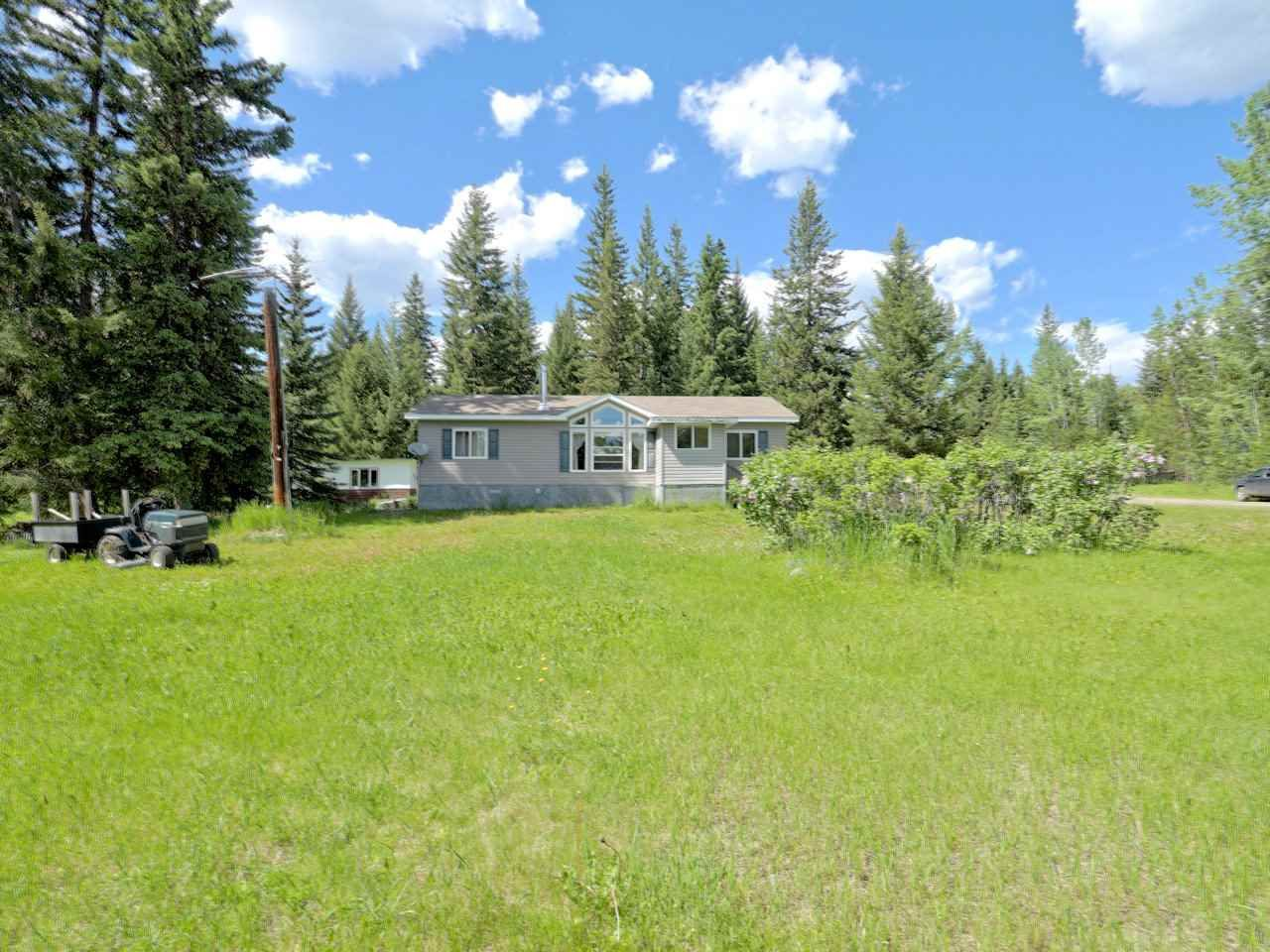 Main Photo: 4712 RUDOSKY Road: Forest Grove Manufactured Home for sale (100 Mile House (Zone 10))  : MLS®# R2468041