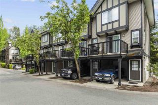 """Photo 1: 14 20176 68 Avenue in Langley: Willoughby Heights Townhouse for sale in """"STEEPLE CHASE"""" : MLS®# R2461553"""