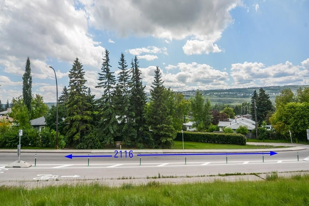 VERY WELL TREED LOT WITH THE POTENTIAL OF AWESOME VIEWS WITH A NICE NEW HOME