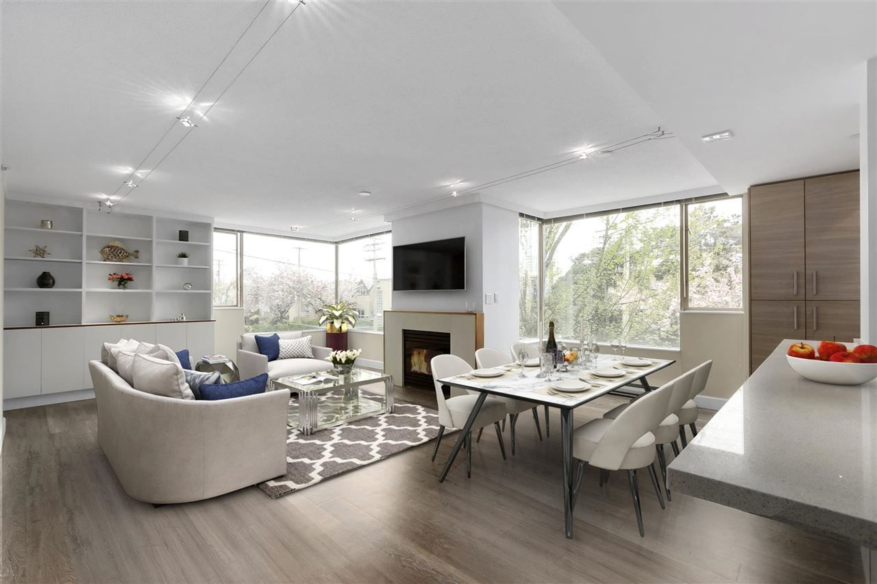 """Main Photo: 201 2438 HEATHER Street in Vancouver: Fairview VW Condo for sale in """"Grand Heather Gardens"""" (Vancouver West)  : MLS®# R2453031"""