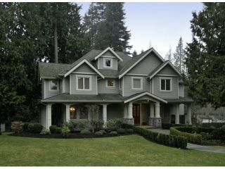 """Photo 1: 3169 136TH Street in Surrey: Elgin Chantrell House for sale in """"Bayview"""" (South Surrey White Rock)  : MLS®# F1401327"""