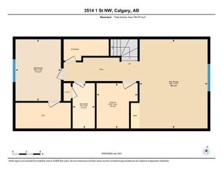 Photo 33: 3514 1 Street NW in Calgary: Highland Park Semi Detached for sale : MLS®# A1089981