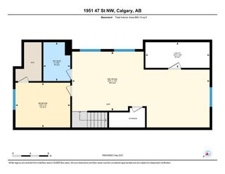 Photo 32: 1951 47 Street NW in Calgary: Montgomery Semi Detached for sale : MLS®# A1104342