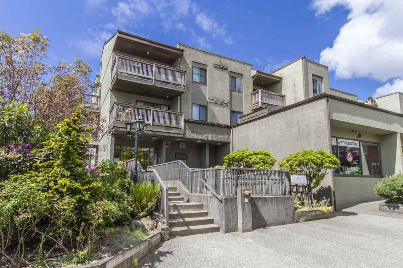 Main Photo: 114 836 TWELFTH Street in New Westminster: West End NW Condo for sale : MLS®# R2274082