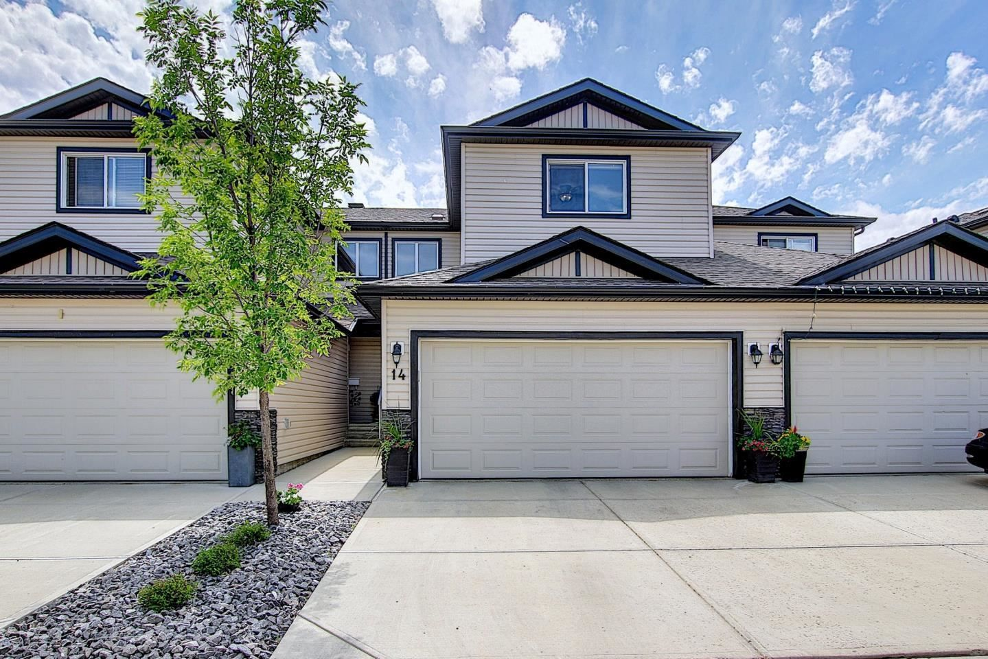 Main Photo: 14 445 Brintnell Boulevard in Edmonton: Zone 03 Townhouse for sale : MLS®# E4248531