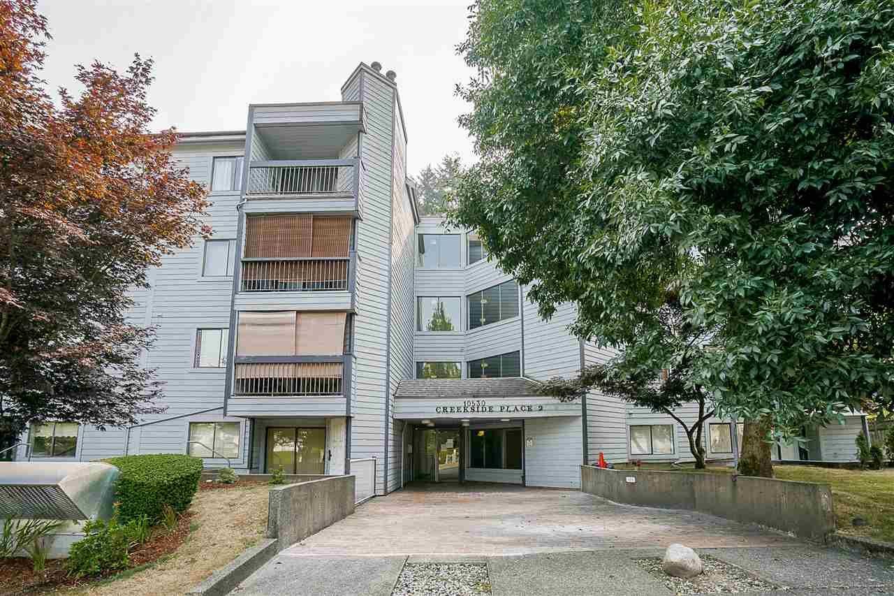 """Main Photo: 213 10530 154 Street in Surrey: Guildford Condo for sale in """"Creekside"""" (North Surrey)  : MLS®# R2205122"""