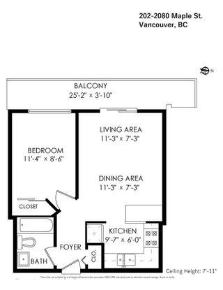Photo 31: 202 2080 MAPLE STREET in Vancouver: Kitsilano Condo for sale (Vancouver West)  : MLS®# R2576001