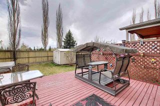 Photo 44: 219 HOLLINGER Close NW in Edmonton: Zone 35 House for sale : MLS®# E4243524