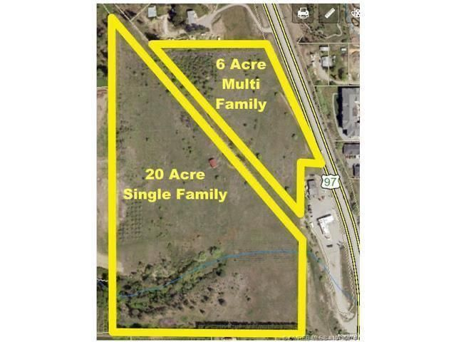 Main Photo: 10660 highway 97 Highway, N in District of Lake Country: Vacant Land for sale : MLS®# 10239947