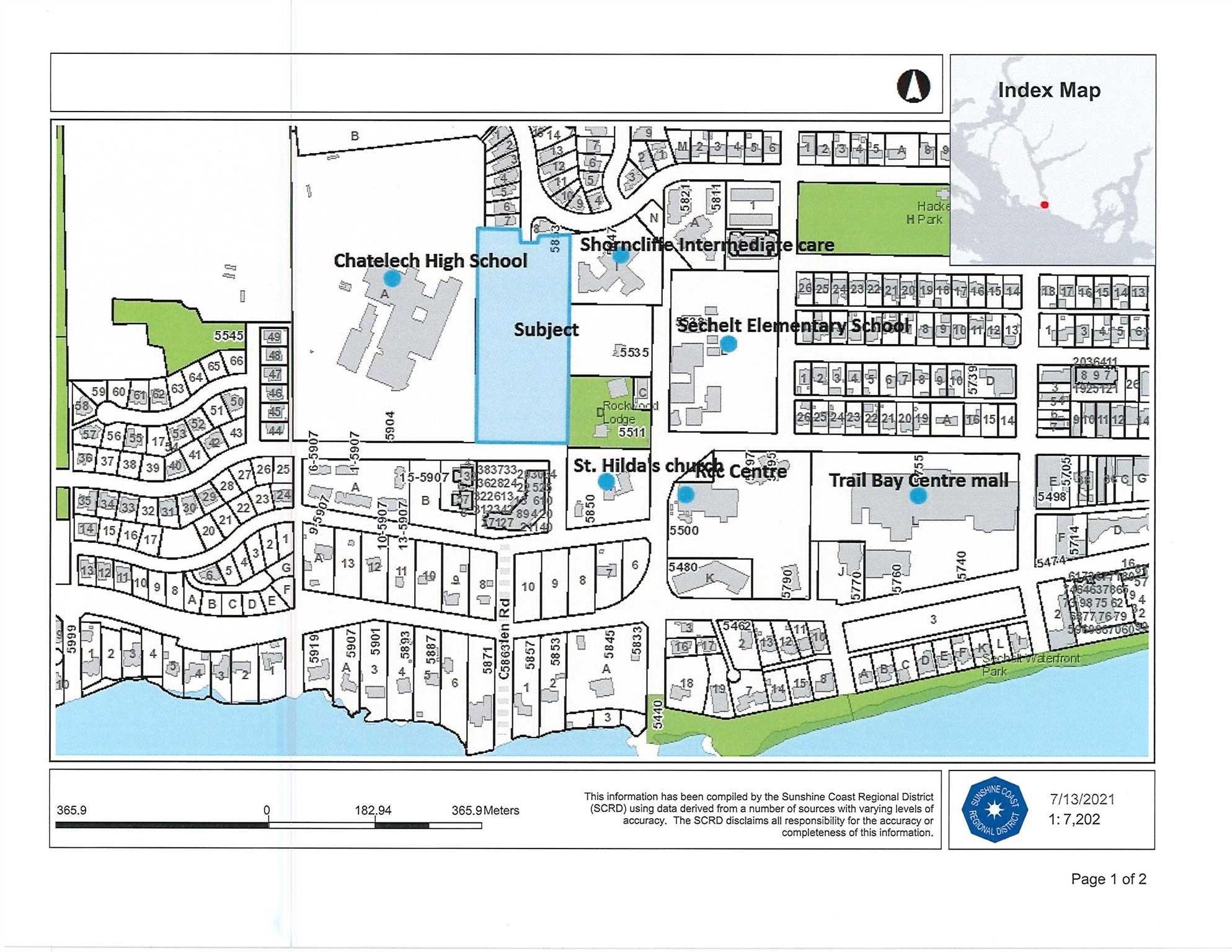 Main Photo: PARCEL A COWRIE Street in Sechelt: Sechelt District Land for sale (Sunshine Coast)  : MLS®# R2601572
