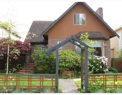 Main Photo: 2284 UPLAND Drive in Vancouver: Fraserview VE House for sale (Vancouver East)  : MLS®# V708035