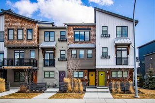 Photo 1: 371 WALDEN Drive SE in Calgary: Walden Row/Townhouse for sale : MLS®# A1081750