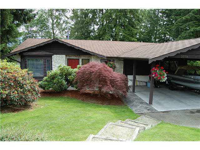 Main Photo: 3229 PIER DRIVE in : Ranch Park House for sale : MLS®# V837744