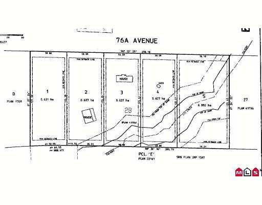 """Main Photo: # LT.5 76A AV in Langley: Fort Langley Land for sale in """"Forest Knolls"""" : MLS®# F2902304"""