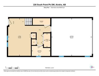 Photo 39: 226 South Point Park SW: Airdrie Row/Townhouse for sale : MLS®# A1132390