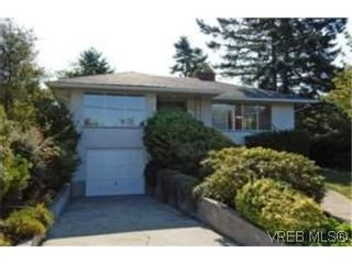 Photo 1: 2885 Inlet Ave in VICTORIA: SW Gorge House for sale (Saanich West)  : MLS®# 515426