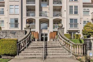 "Photo 2: 402 1655 GRANT Avenue in Port Coquitlam: Glenwood PQ Condo for sale in ""THE BENTON"" : MLS®# R2548196"