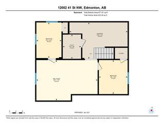 Photo 48: 12002 41 Street in Edmonton: Zone 23 House for sale : MLS®# E4239522