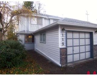 """Photo 1: 115 9507 208TH Street in Langley: Walnut Grove Townhouse for sale in """"YORKSON MANOR"""" : MLS®# F2831928"""