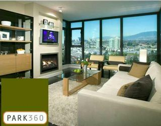 """Photo 1: 2105 7088 18TH Avenue in Burnaby: Edmonds BE Condo for sale in """"PARK 360"""" (Burnaby East)  : MLS®# V659596"""