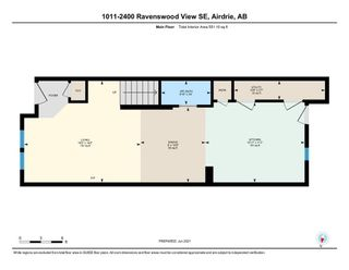 Photo 25: 1011 2400 Ravenswood View SE: Airdrie Row/Townhouse for sale : MLS®# A1121287