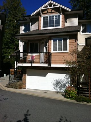 """Photo 1: 45 11720 COTTONWOOD Drive in Maple Ridge: Cottonwood MR Townhouse for sale in """"COTTONWOOD GREEN"""" : MLS®# R2005040"""