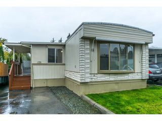 """Photo 1: 179 3665 244 Street in Langley: Otter District Manufactured Home for sale in """"LANGLEY GROVE ESTATES"""" : MLS®# R2316679"""