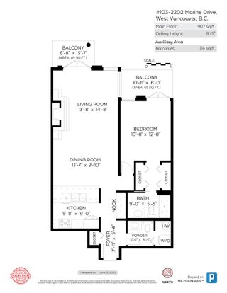 """Photo 21: 103 2202 MARINE Drive in West Vancouver: Dundarave Condo for sale in """"Stratford Court"""" : MLS®# R2465972"""
