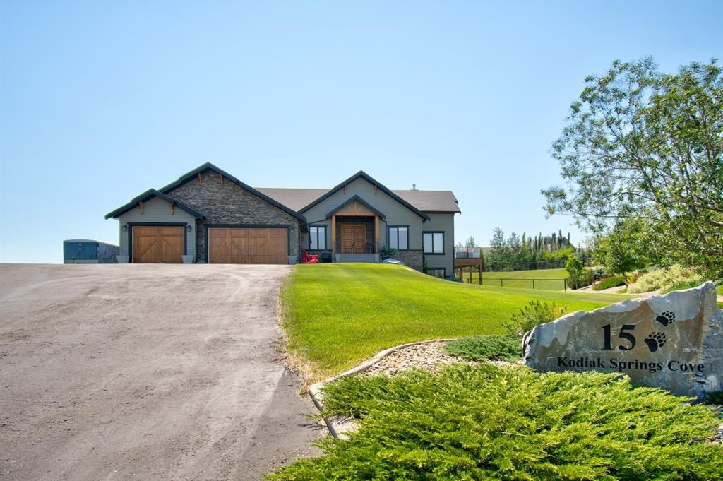 Main Photo: 15 Kodiak Springs Cove in Rural Rocky View County: Rural Rocky View MD Detached for sale : MLS®# A1153028