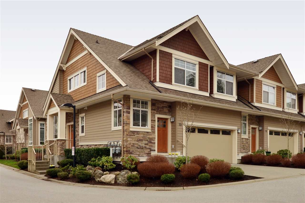 """Main Photo: 19 2453 163 Street in Surrey: Grandview Surrey Townhouse for sale in """"Azure West"""" (South Surrey White Rock)  : MLS®# R2334851"""