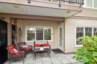 "Photo 1: 109 22150 DEWDNEY TRUNK Road in Maple Ridge: West Central Condo for sale in ""Falcon Manor"" : MLS®# R2619650"
