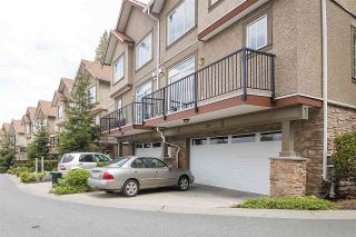 "Photo 1: 28 35626 MCKEE Road in Abbotsford: Abbotsford East Townhouse for sale in ""LEDGEVIEW VILLAS"" : MLS®# R2169565"