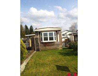 Photo 1: 1889 SHORE in Abbotsford: Central Abbotsford Manufactured Home for sale : MLS®# F2804923