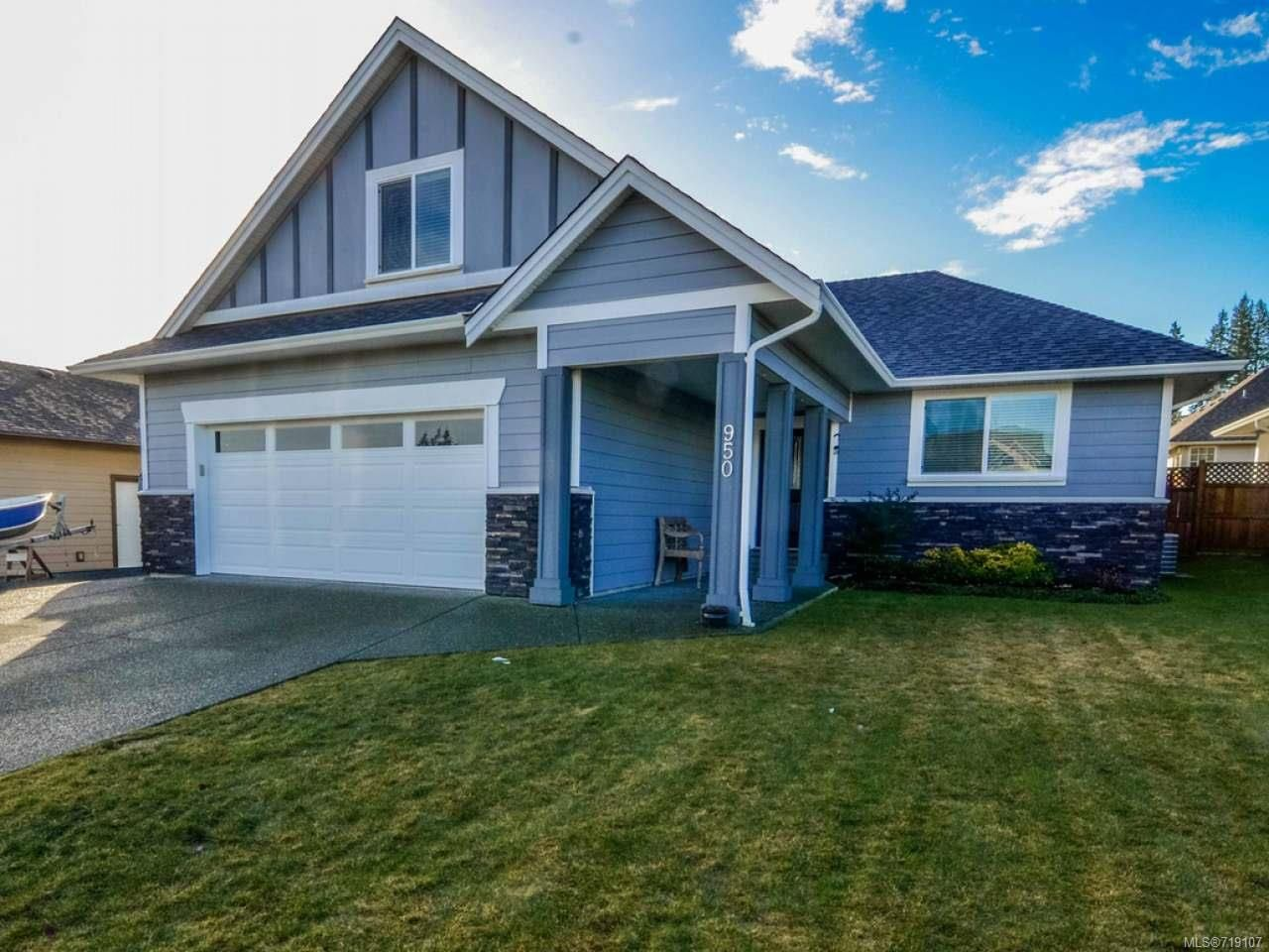 Main Photo: 950 Cordero Cres in CAMPBELL RIVER: CR Willow Point House for sale (Campbell River)  : MLS®# 719107