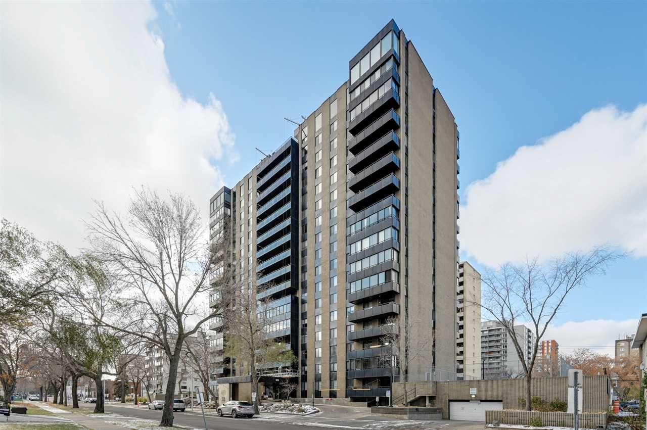 Main Photo: 1005 10160 115 Street in Edmonton: Zone 12 Condo for sale : MLS®# E4218853
