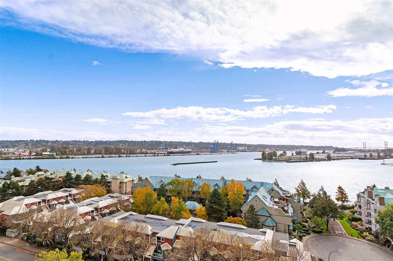 """Main Photo: 1401 1135 QUAYSIDE Drive in New Westminster: Quay Condo for sale in """"ANCHOR POINTE"""" : MLS®# R2538657"""
