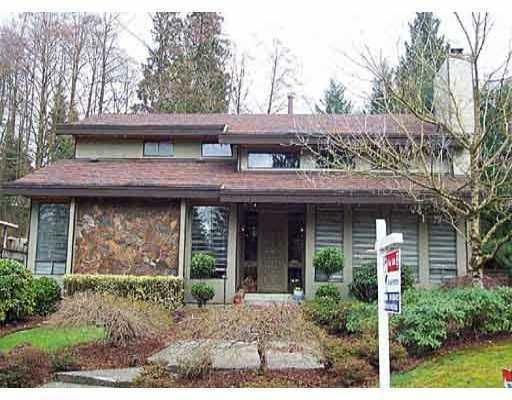 Main Photo: 2570 NORCREST CT in Burnaby: House for sale : MLS®# V767749