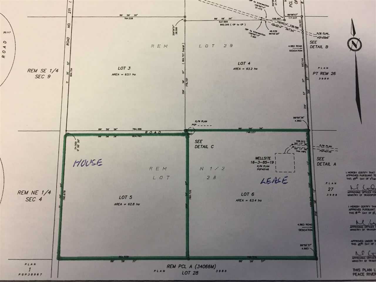 """Photo 2: Photos: LOT 6 VALLEY VISTA Road in Fort St. John: Fort St. John - Rural W 100th Land for sale in """"BEATON PARK ROAD"""" (Fort St. John (Zone 60))  : MLS®# R2541968"""