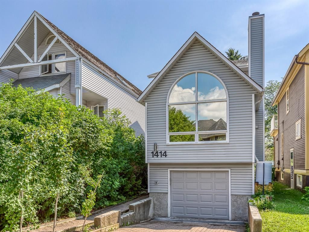 Main Photo: 1414 2 Street NW in Calgary: Crescent Heights Detached for sale : MLS®# A1129267
