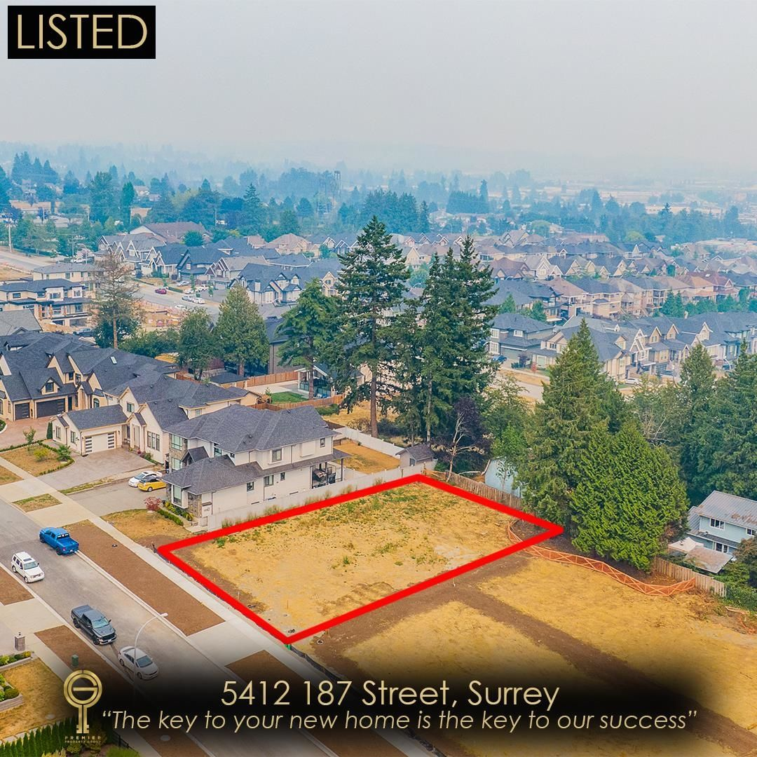 Main Photo: 5412 187 Street in Surrey: Cloverdale BC Land for sale (Cloverdale)  : MLS®# R2615669
